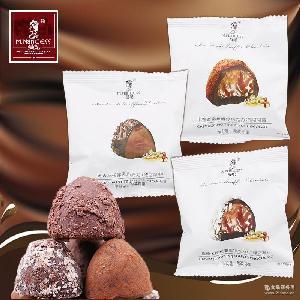 黑森林焦糖太妃卡布奇诺代可可脂(代可可脂) 曼妃松露巧克力