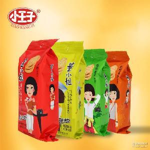 小王子董小姐烘焙烤薯片 定量裝膨化薯片批發 38g*15包*6盒/箱
