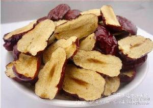 休閑零食 河北特產 新疆和田大棗片 酥脆可口 批發 煲湯煮粥磨粉