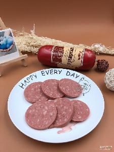 进口俄罗斯猪肉火腿俄式香肠熏肠350克一个 对肠野餐户外食品