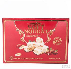 花生牛轧糖178g礼盒装结婚喜庆喜糖休闲食品零食 进口零食批发