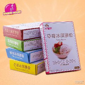 鮮奶 好媽媽芒果 臺灣進口 巧克力硬冰激凌冰淇淋粉100克原裝