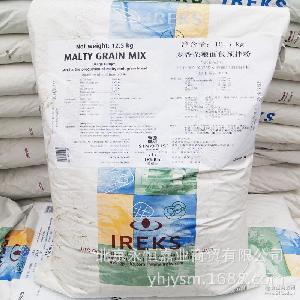 德国原装进口IREKS爱焙士麦香杂粮面包预拌粉12.5公斤/袋烘焙原料