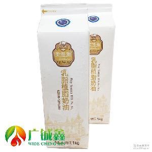 乳脂植脂奶油 鲜奶油 立高系列 立高美蒂雅乳脂植脂奶油1L*12盒