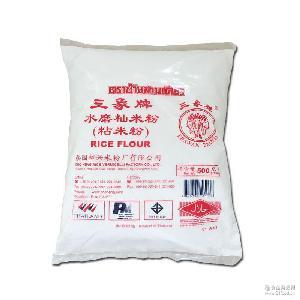 三象粘米粉月饼原料水磨籼米粉冰皮月饼肠粉水晶饺子500g
