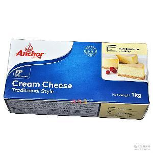 乳酪蛋糕 烘焙原料 安佳奶油芝士奶油奶酪 原装1kg*12盒