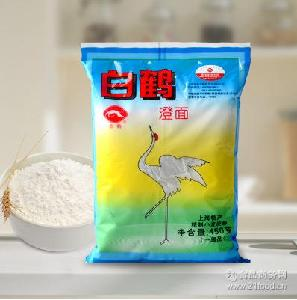 白鹤牌澄面 水晶虾饺450g装wdgj55525 澄粉 冰皮月饼原料