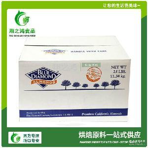 巴旦木片 蛋糕烘焙食材現貨批發 美國進口藍鉆大杏仁片11.34kg