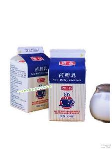 植脂奶油 維益植脂乳454g*24盒/箱 甜品植脂乳奶茶 烘培原料