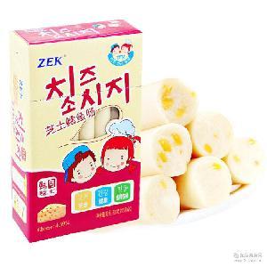 ZEK芝士鳕鱼肠300g 韩国进口儿童食品 热销零食批发