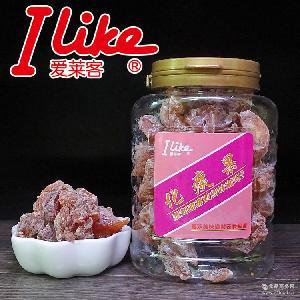 香港進口零食品愛萊客*果200g罐*潤喉休閑蜜餞果脯果干