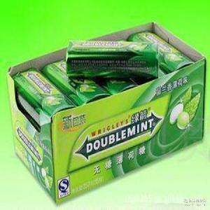 長效配方 綠箭鐵盒裝無糖口香糖 15瓶獨立包裝 倍感持久清新