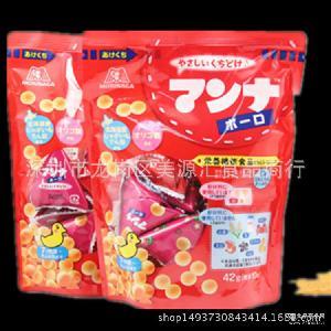 森永 日本直达 高钙南瓜马铃薯小馒头宝宝波波饼辅食52g*40袋/箱