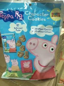 澳洲 卡通造型曲奇饼干200g*12包/箱 小猪佩奇