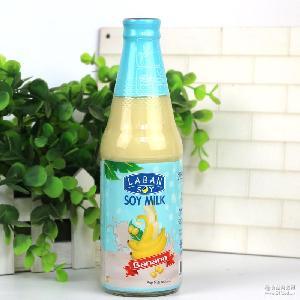 啦班牛乳豆奶饮料300ml*24瓶/箱 泰国