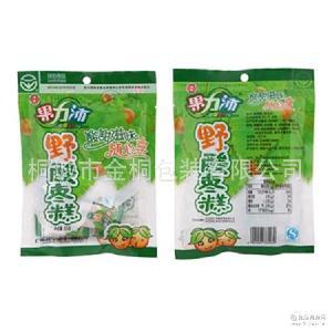 定做开胃食品酸枣糕包?#25353;?休闲食品彩印袋枣片果丹皮阴阳复合袋