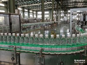 全自动矿泉水包装流水线
