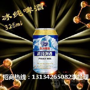 箱装易拉罐啤酒加盟8度啤酒批发