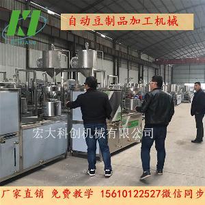 宁波仿手工豆腐皮机厂家直销 气压压皮机 自动豆腐皮泼脑机