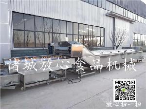连续式龙虾专用蒸煮机