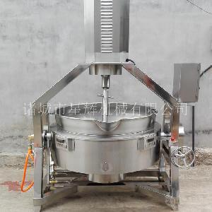 成都火锅底料自动炒料机 大型自动辣椒酱炒锅 商用炒料机批发商