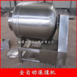 全自动制冷真空滚揉机设备 肉制品厂专用设备