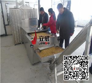 豆浆原料熟化设备-微波熟化设备