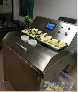 厂家供应高速菠萝切片机菠萝片菠萝罐头加工设备