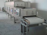 微波白剛玉磨料烘干設備