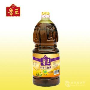 鲁王一级压榨菜籽油1.8L