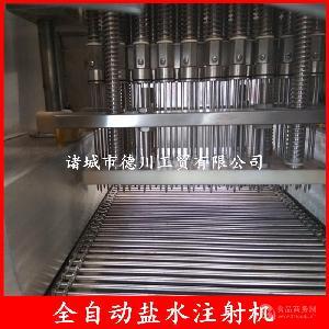五香驴肉嫩化盐水注射机设备 腌渍80针盐水注射机 肉类注水机