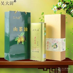 吴大厨 原香原味山茶油 1.6L福利送礼孕妇宝宝食用油月子油茶籽油