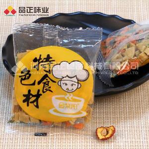 腐竹段青菜包 方便面粉丝拌面调味蔬菜包 定制加工