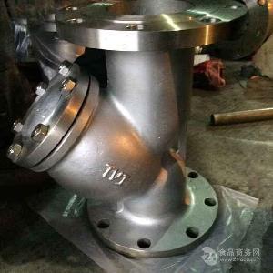 不锈钢法兰Y型过滤器GL41W-16P-304