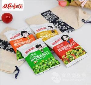 厂家直销品乐家族多口味青豌豆独立小包青豆
