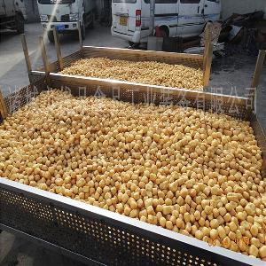 优品豆泡油炸生产线 电加热豆制品炸锅 提升输送变频可调