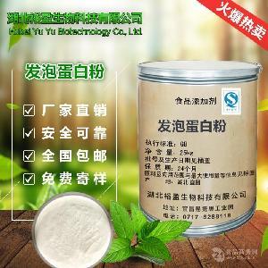 正品销售 食品级 发泡蛋白粉 营养强化剂 发泡蛋白粉 一公斤起订
