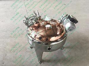 紫铜蒸馏搅拌罐