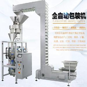 厂家直销  佛山川美CM-420全自动油炸食品包装机包装机械