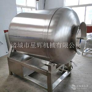 實驗用雞鴨魚肉真空滾揉機 大型商用牛羊肉快速嫩化機