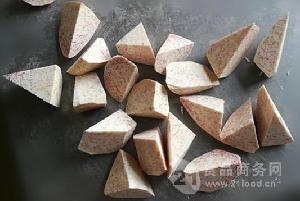 纯天然广西香芋角(菱形)批发