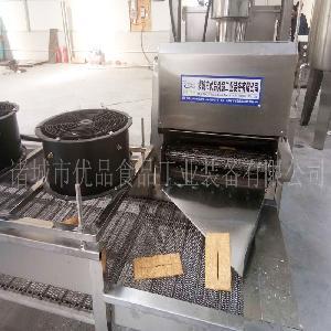 环保节能型鱼豆腐油炸机哪里卖 电加热腐竹油炸机 小型炸锅多少钱