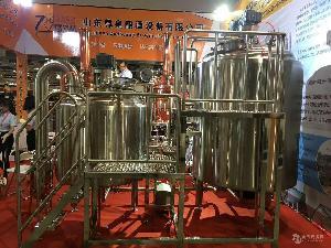 自酿啤酒设备、果酒设备、教学实验设备