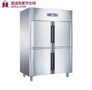 贝诺制冷 立式豪华四门风冷冷柜NEC1420L4