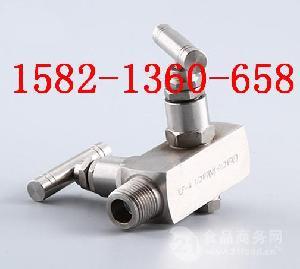304不锈钢仪表阀一体化二阀组EF-1/2/3/4针型阀