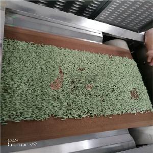 搞火了的微波豆腐猫砂烘干设备