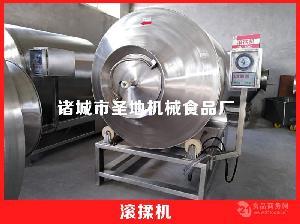圣地生产各种不同 型号 不锈钢 真空滚揉机