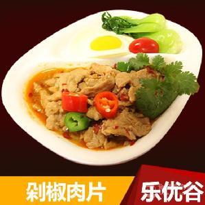 剁椒肉片200g速食快餐方便餐調理包料理包 廣州樂優谷外賣批發