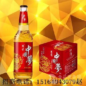500毫升大瓶啤酒代理/低价箱装啤酒加盟
