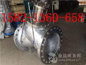 JD745X/DS101X-10P DN450不锈钢活塞式多功能水泵控制阀